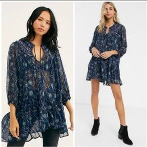 NWT Free People Keep Up w Kara Swim Cover Tunic